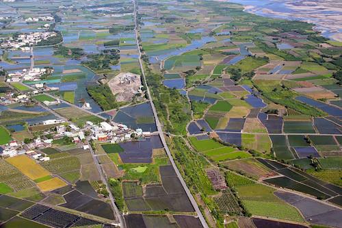 莿桐鄉北倚汨汨而流的濁水溪,位處嘉南平原豐腴帶的開端。圖片來源:雲林縣政府與農博團隊
