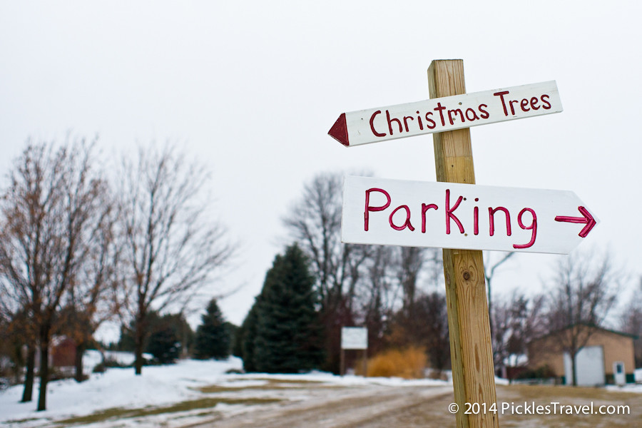 Christmas Trees and Parking