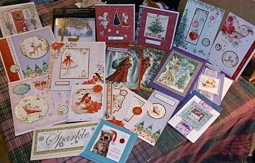 Christmas Card stash 2014