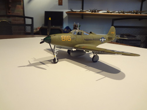 1/48 Revell P-39 Airacobra with Eduard Detail Kit  - Zone