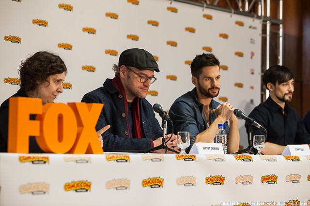 Elliot Cowan, Tom Riley e Blake Ritson (Da Vinci's Demons) - Comic Con Portugal '14
