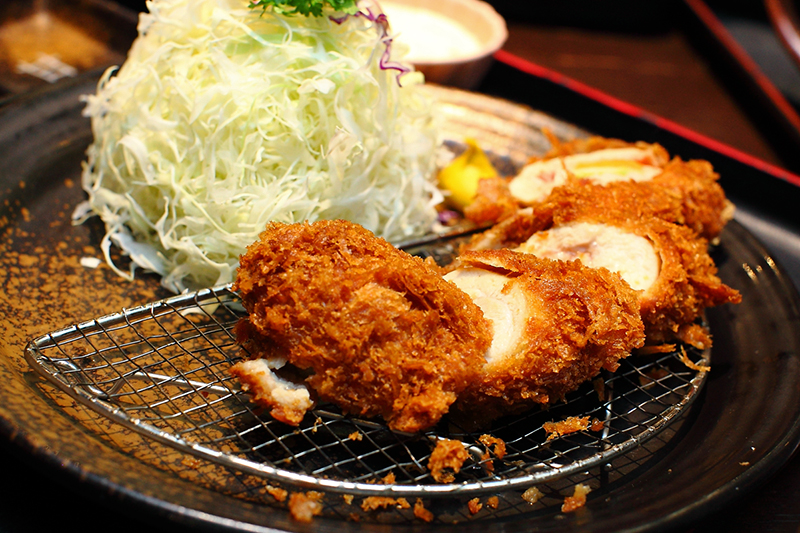 tonkatsu Chicken-Cheese