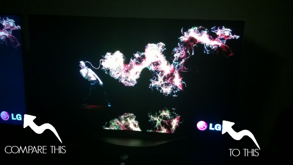LG OLED at Best Buy #HintingSeason #OLEDatBestBuy