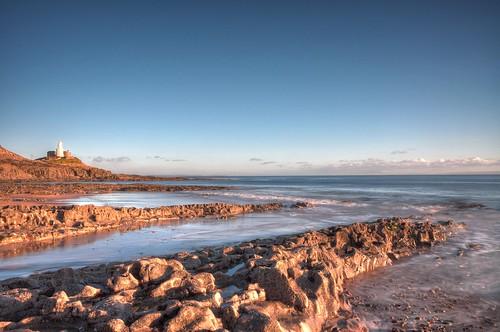 longexposure lighthouse seascape southwales nikon mumbles d90 mumbleshead 1855mmvr
