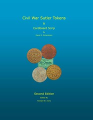 Civil War Sutler Tokens 2nd ed