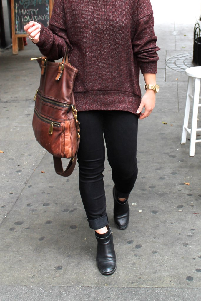 how to style black ankle boots