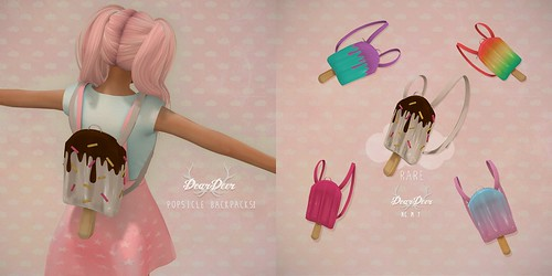 Popsicle backpacks GACHA @Seven Silly Celebration
