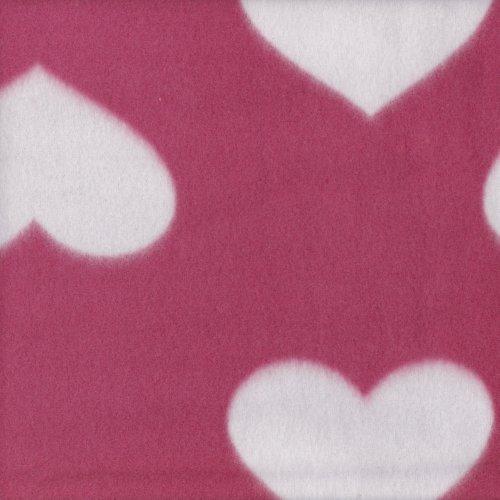 【限宅配】心心相印 愛心 刷毛布 衣物 保暖衣物內裡 冷氣毯 LC690013