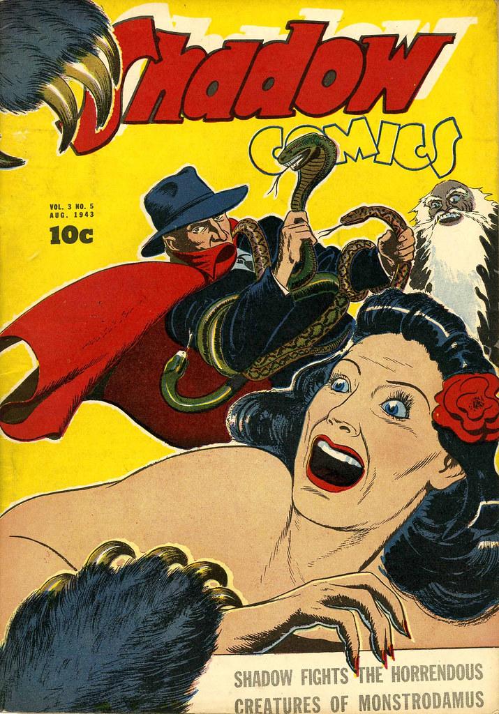 Shadow Comics V3#5 Mile High pedigree (Street & Smith, 1943)