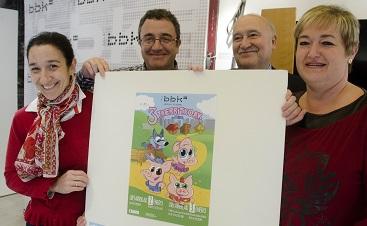 """La recaudación de la función solidaria """"Los Tres Cerditos"""" en la Sala BBK se destinará a la investigación del Síndrome de San Filippo"""