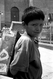 Boy Selling Soda (Caraz, Peru 1998)