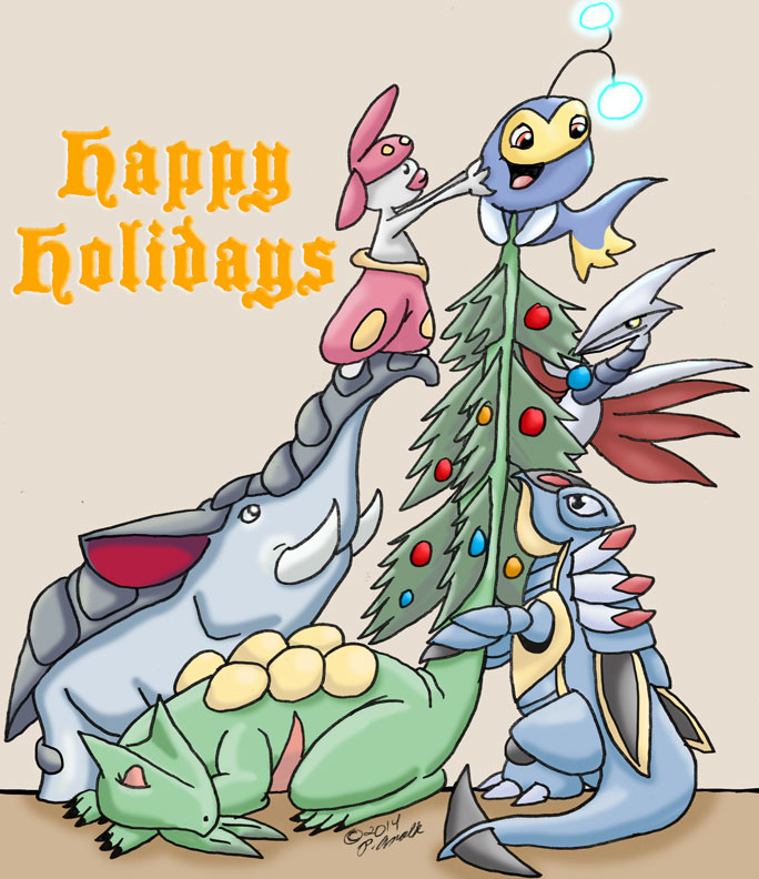 12.21.14 - Pokemon Christmas