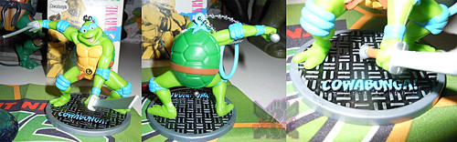 MONOGRAM INTERNATIONAL :: TEENAGE MUTANT NINJA TURTLES; COLLECTIBLE FIGURINES v / LEONARDO (( 2014 ))