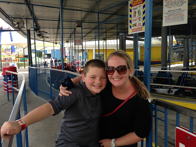 GO Karts at Fun Spot in Kissimmee, FL