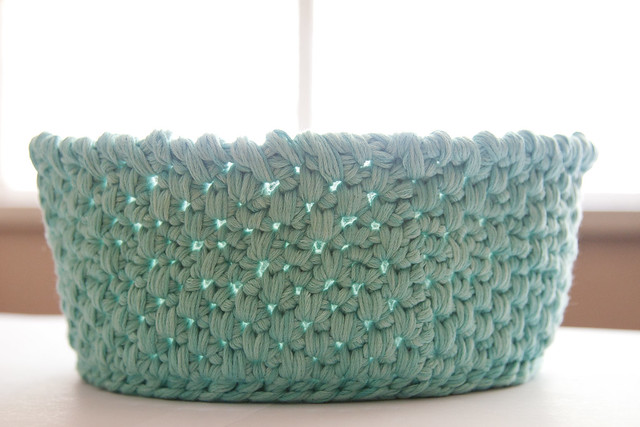 Spike Stitch Basket