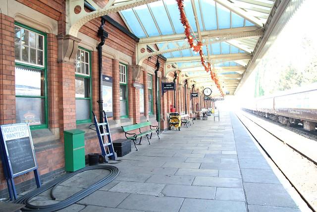 Loughborough steam trains