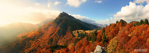 autumn light red wild sky panorama cloud brown mountain tree nature colors yellow forest trek landscape gold climb walk free hike adventure trail backpacking enjoy backpack backcountry slovensko slovakia hillside flares tura hory jesen top20panoramic matuskosut