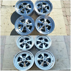 #For#Sale#Used#Parts#alyehliparts#alyehli#UAE#AbuDhabi#AlFalah#City  SET OF USED 4 × CLASSIC CRAGAR SS RIMS 15x6 AND 14X6  DETAILS :  TWO RIMS 14X6  HECHO EN MEXICO MARACA REG  RIM 14X6 D L426 1 87 1 MAR 10 1987  RIM 14X6 D L421 1 87 2 MAR 10 1987  TWO R