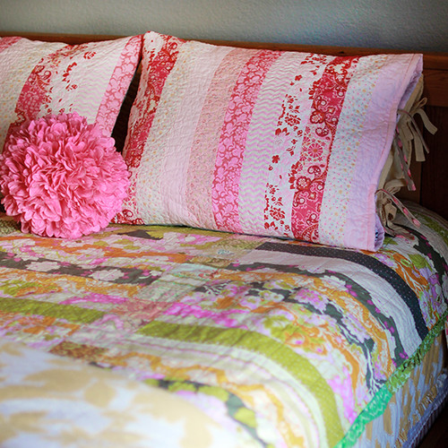 quilted sham 1