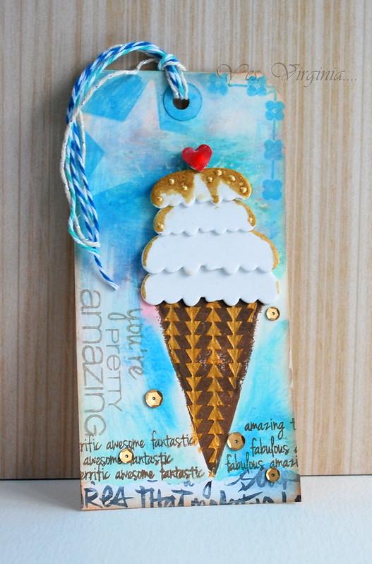 Ice cream tag