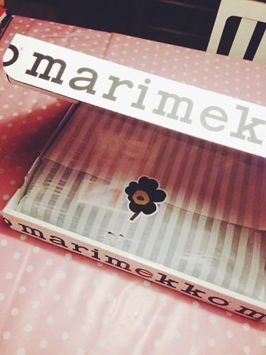 a box of marimekko goodness