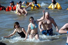 Testify girl, this polar plunge is beyond icy cold.
