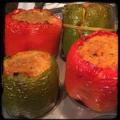 #CucinaDelloZio - #homemade #StuffedPeppers - #peperoni #imbottiti