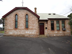 Naracoorte. The old state school now privately owned. Built about 1877 just after the 1875 Education Act.
