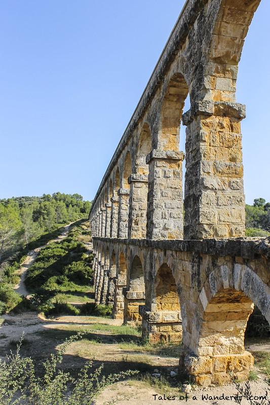 TARRAGONA - Aqüeducte de les Ferreres (Pont del Diable)