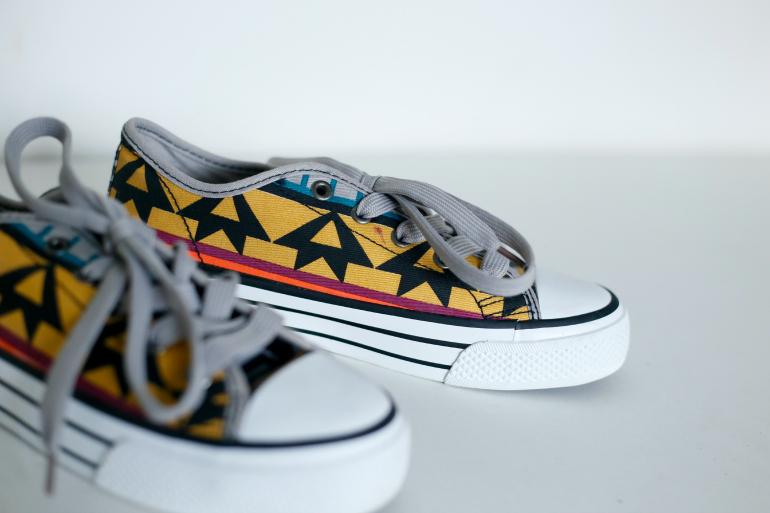 aztec print sneakers 2