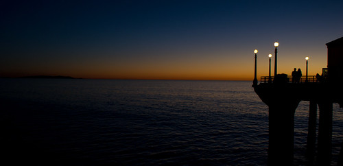 sunset sea usa beach sunrise pier twilight nikon dusk manhattan sigma wharf redondo hemosa d3100