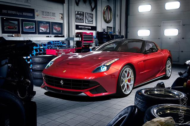 Ferrari Aknian V12