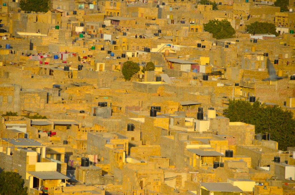 jaisalmer golden city of yellow sandstone skyscrapercity