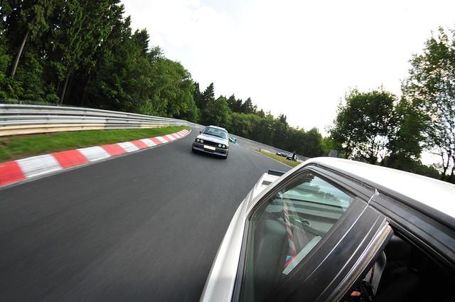 BMW M3 parade lap 7
