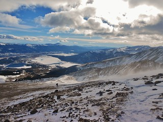 Looking Southeast from East Ridge of Mt. Elbert
