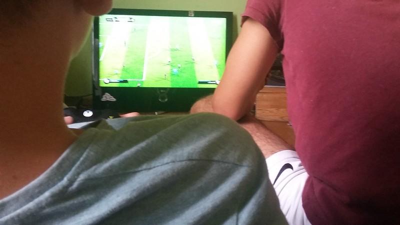 15. Tag (Fr. 01.07) - Playstation Fußballturnier
