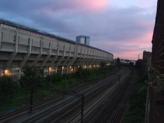 Sunset on Brutalist architecture #iloveit