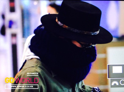 Big Bang - Gimpo Airport - 27feb2015 - G-Dragon - Always GD - 02