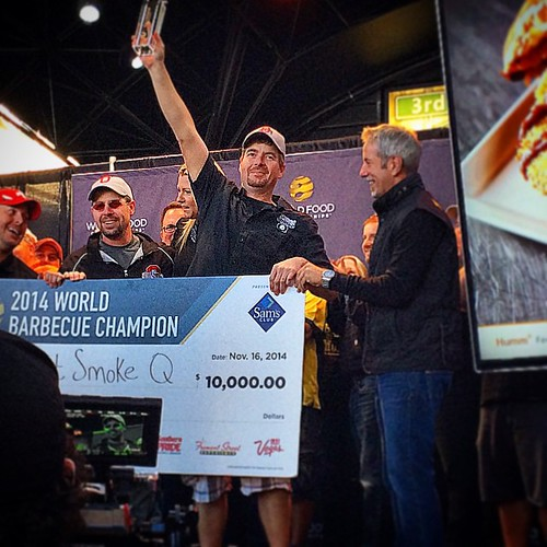 Sweet Smoke Q moves on to the final table! #bbq #sweetsmokeq #wfc14 #WorldFoodChamp #worldfoodchampionships | by Mid Atlantic BBQ Association