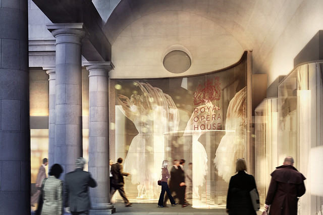 Proposed Covent Garden Piazza entrance © Stanton Williams 2014
