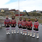 Czech seed beads in Greenland