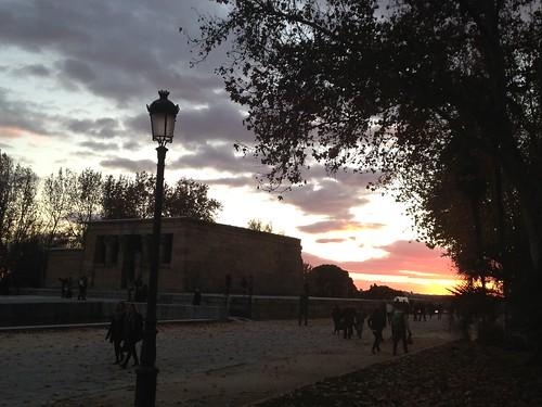 Templo Debod. Madrid