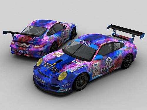 Porsche 997 GT3 cup - TRG #66 - ALMS 2013 - rFactor