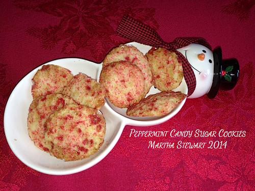 The Bitten Word Peppermint Candy Sugar Cookies