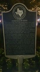 Photo of Harry Houdini black plaque