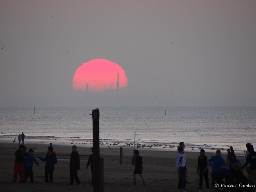 sunset belgium belgique belgie noordzee northsea merdunord depanne panne