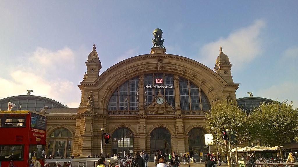Estação de trem de Frankfurt