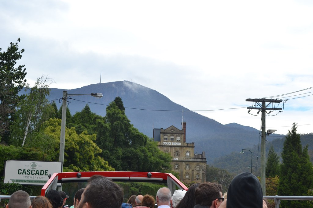 Bus tour of Hobart