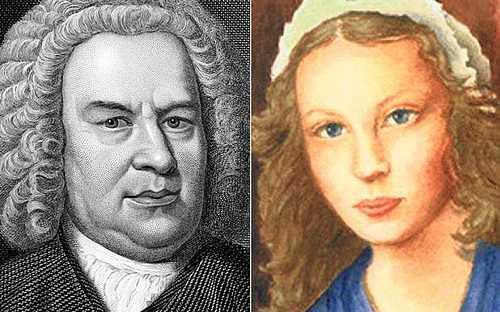 Bach y su esposa