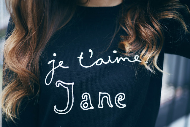 Bella Freud Je T'aime Jane Jumper What Olivia Did